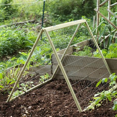 building a garden trellis diy garden trellis this natural dream