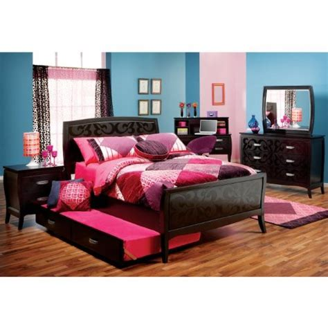 bedroom set full bedroom sets furniture belle noir 3 pc full bedroom