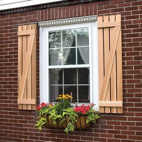 cedar z shutters board and batten shutters with z bar exterior wooden