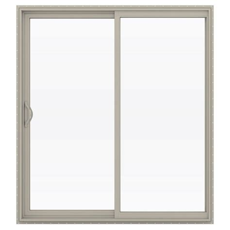 jeld wen patio door replacement parts jeld wen 72 in x 80 in v 2500 series vinyl sliding low e