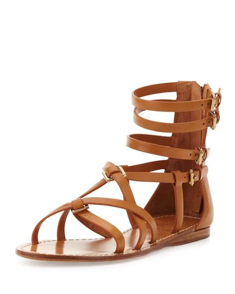 burch gladiator sandals burch lucas leather gladiator sandal custom in