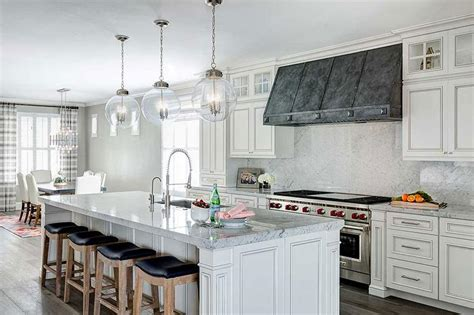 Zinc Kitchen Cabinets   White Kitchen Cabinets With Zinc