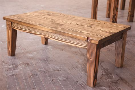 Rustic Farmhouse Coffee Table Solid Wood Farmhouse Coffee Table Rustic Coffee Table