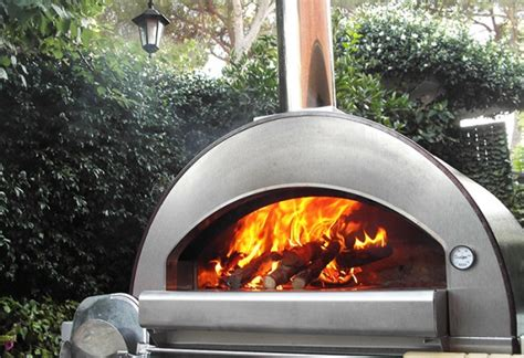 forno per pizze da giardino forni a legna da giardino