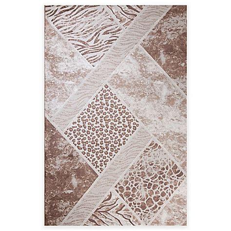lynx rug concord global matrix lynx area rug in beige bed bath beyond