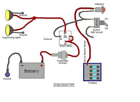 driving light wiring diagram driving free engine image