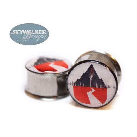 Kaos Band Lengan Panjang Sleeping With Sirens 0g 9 16in sleeping with sirens plugs polyvore katherine plugs accessories and
