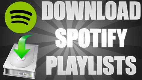 how to download mp3 from spotify free how to download a spotify playlist directly to mp3 youtube