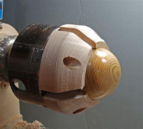 woodworking turning shadow sphere jig wood stuff woodturning