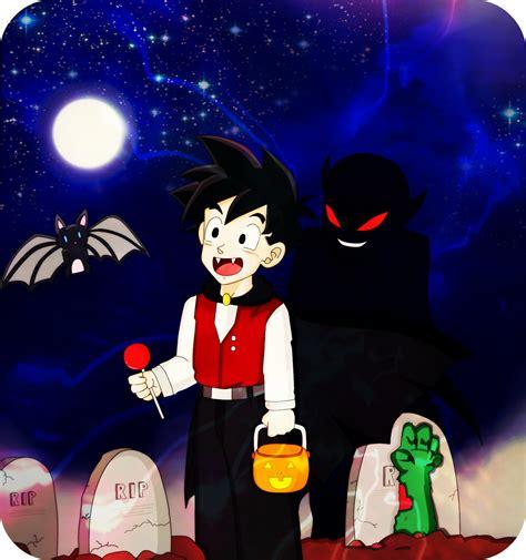 imagenes de dragon ball z halloween dbz halloween by dbzcouplesforever on deviantart