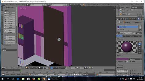 Gagang Pintu Top alma fajrini tutorial membuat ruang kamar 3d dengan