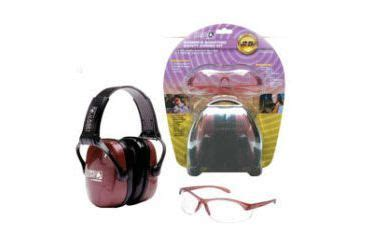 Howard Leight Shooting Combo Earmuffs Glasses Green R 01761 howard leight s shooting combo kit dusty earmuff clear shooting glasses r 01727