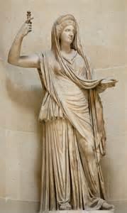 Lotus Tipped Staff Temple Of Hera I At Paestum