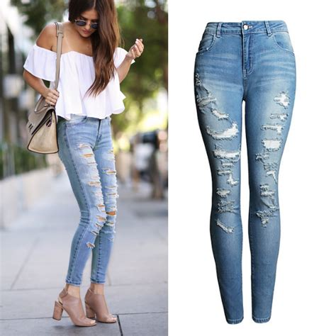 2074 best 220 30 mode outfits images on pinterest online get cheap stretch skinny jeans women aliexpress