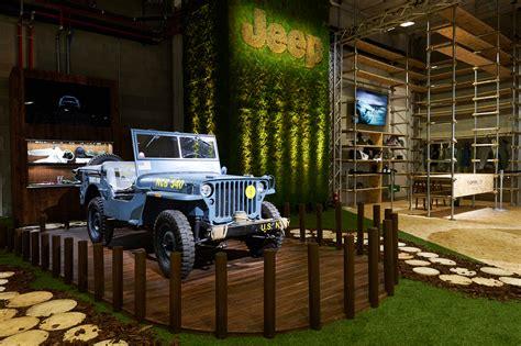 jeep store temporary jeep store in centro a per expo 2015