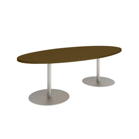 Oval Shaped Meeting Table Groupwork Oval Conference Table Adinitin