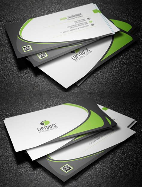 awesome card templates modern business cards design 26 creative exles