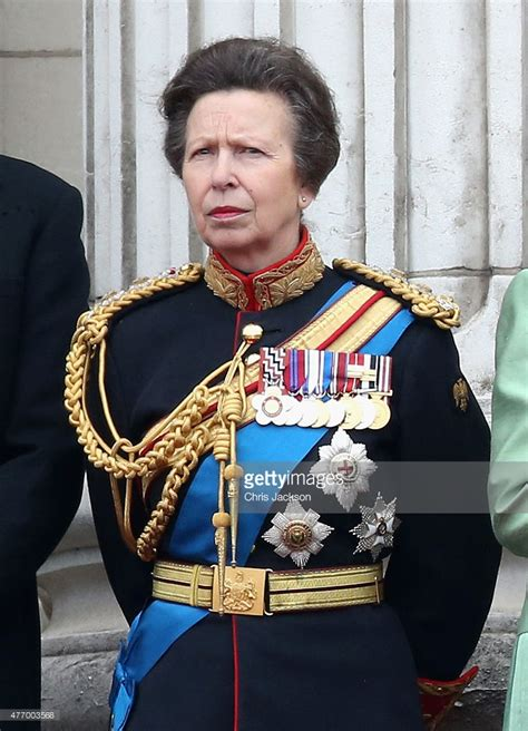 Princess Royal trooping the colour getty images