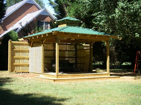 Outdoor Patio Gazebo 12x12 Dunkirk Grill Gazebo Dimensions Crafts