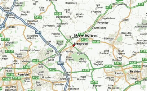 brentwood map brentwood united kingdom location guide