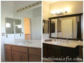 Framing A Cabinet Guest Kid Bathroom Makeover Flashback Friday The Kim