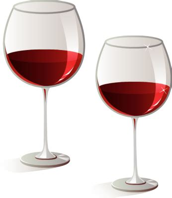 Beautiful Funny Wine Glasses #4: Vintage-wine-glasses-glass-and-on-clipart.png