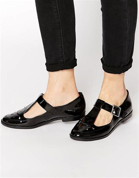 new look shoes flats new look new look junior t bar patent flat shoes