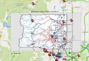 Boulder Colorado Map by Boulder Flooding Map Weather Warnings Road Conditions