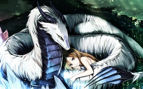 wallpaper anime original protection of the serpentine dragon full hd wallpaper and