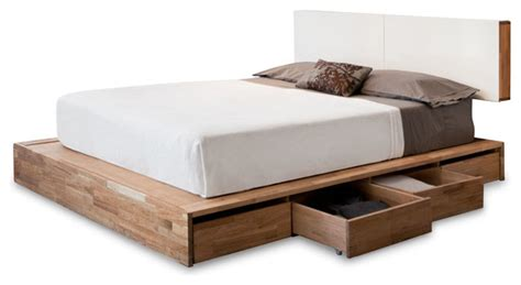 Platform Bed Storage Headboard by Lax Series Storage Platform Bed With Headboard Modern Beds