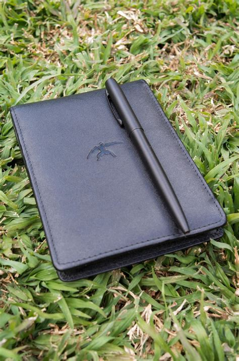 Memo Leather Card Holder Pen 1 pin by tusked crescent everyday carry edc on pad and passport holde