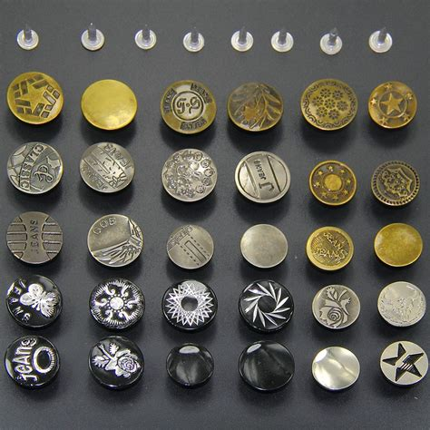 Handcrafted Buttons - 50 a pack diy handmade accessories metal buttons