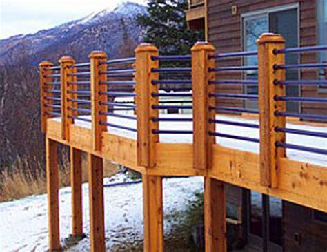 Balcony Railing deck railings wrought iron works