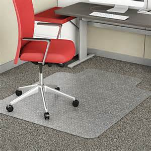 Office Chair Mat Homebase Realspace Advantage Chair Mat Standard Lip For Thin