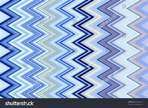 recurrence pattern en français bright geometric zigzag pattern cool tones stock