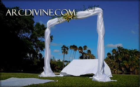 Wedding Arch Rental Near Me by Wedding Arch Rental Canopy Miami Fairchild Botanical