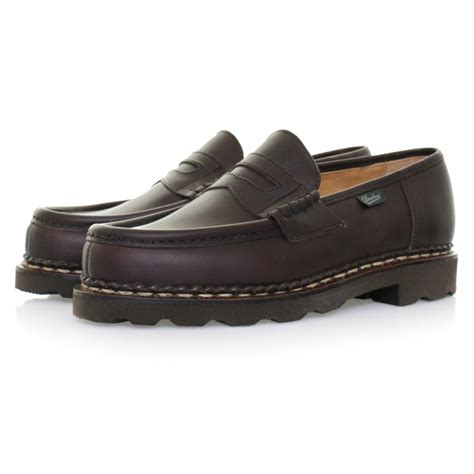 Sandal Loafers Kasual Flat Shoes Original Jk Collection Jln Putih paraboot reims marron cafe loafer shoe 099413 in multicolor for marron lyst