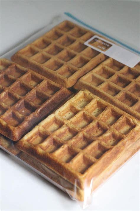 Toaster Waffle freezer to toaster waffle recipe new leaf wellness