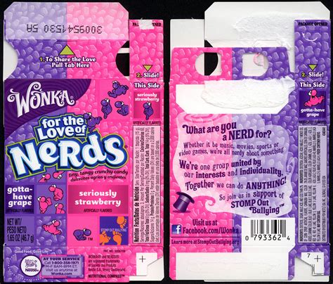 Wonka Nerds Strawberry Grape Candies 47 Gr box www pixshark images galleries with