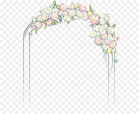 wedding flower door png