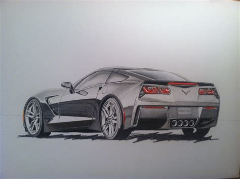 cars drawings car art gallery jessemonroeart