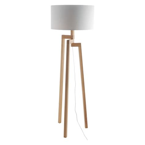 Where Can I Buy Home Decor by White Wooden Floor Lamp Feeling Of Symmetry And