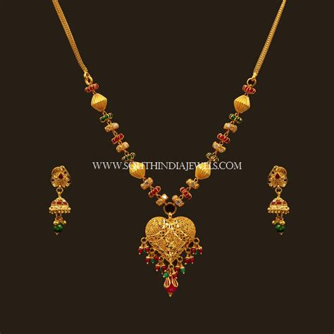 set designs with price gold necklace set designs with price set design