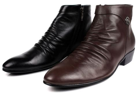 get cheap mens casual dress boots aliexpress