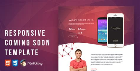 responsive coming soon template themekeeper com