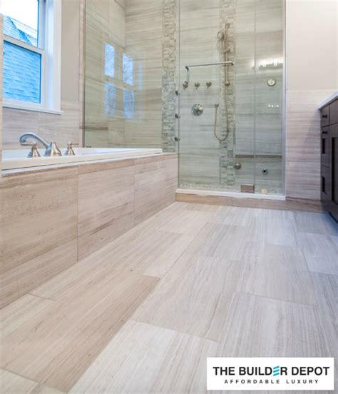white oak      polished marble floor  wall tile