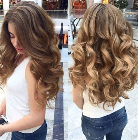 Curl Hairstyles by Best 25 Big Curls Ideas On Big Curls For