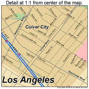 culver city california map 0617568