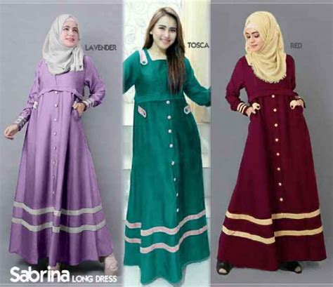 Gamis Remaja Model Busana Muslim Modern Related Keywords Model Busana
