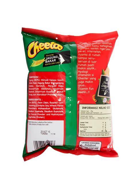 Cheetos Rasa Jagung Bakar 500 Gram cheetos snack jagung bakar pck 40g klikindomaret